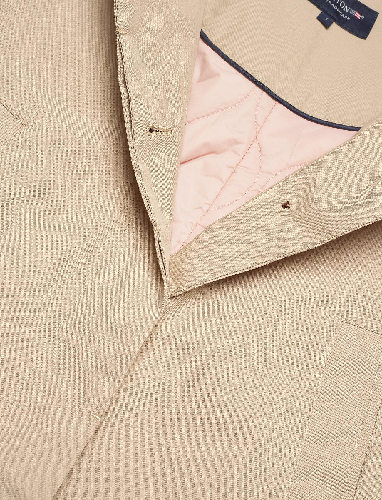 Lexington Clothing Helena Jacket - Kurtki i Płaszcze BEIGE - Kobiety Odzież.