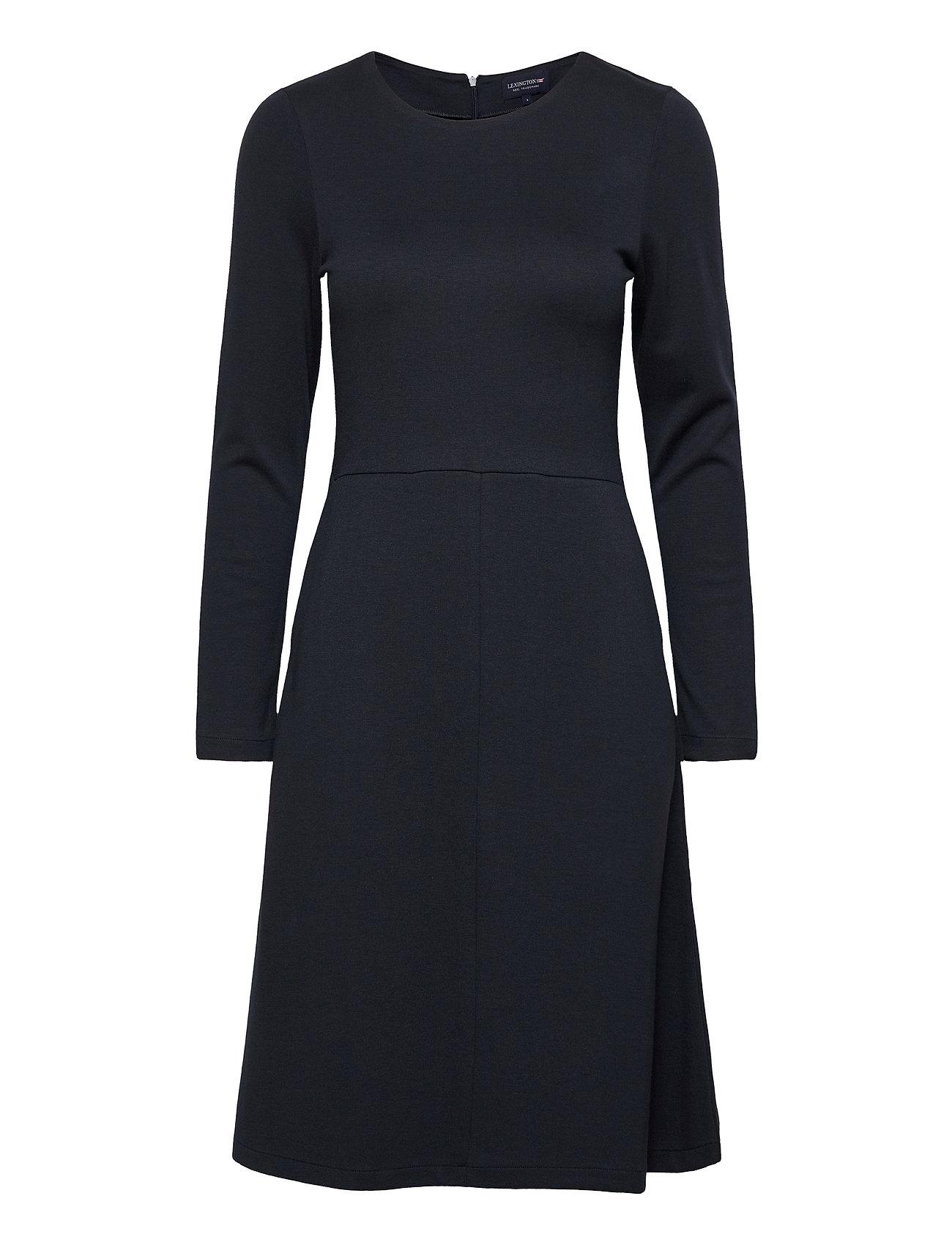 Image of Joan Jersey Dress Knælang Kjole Sort Lexington Clothing (3455222851)