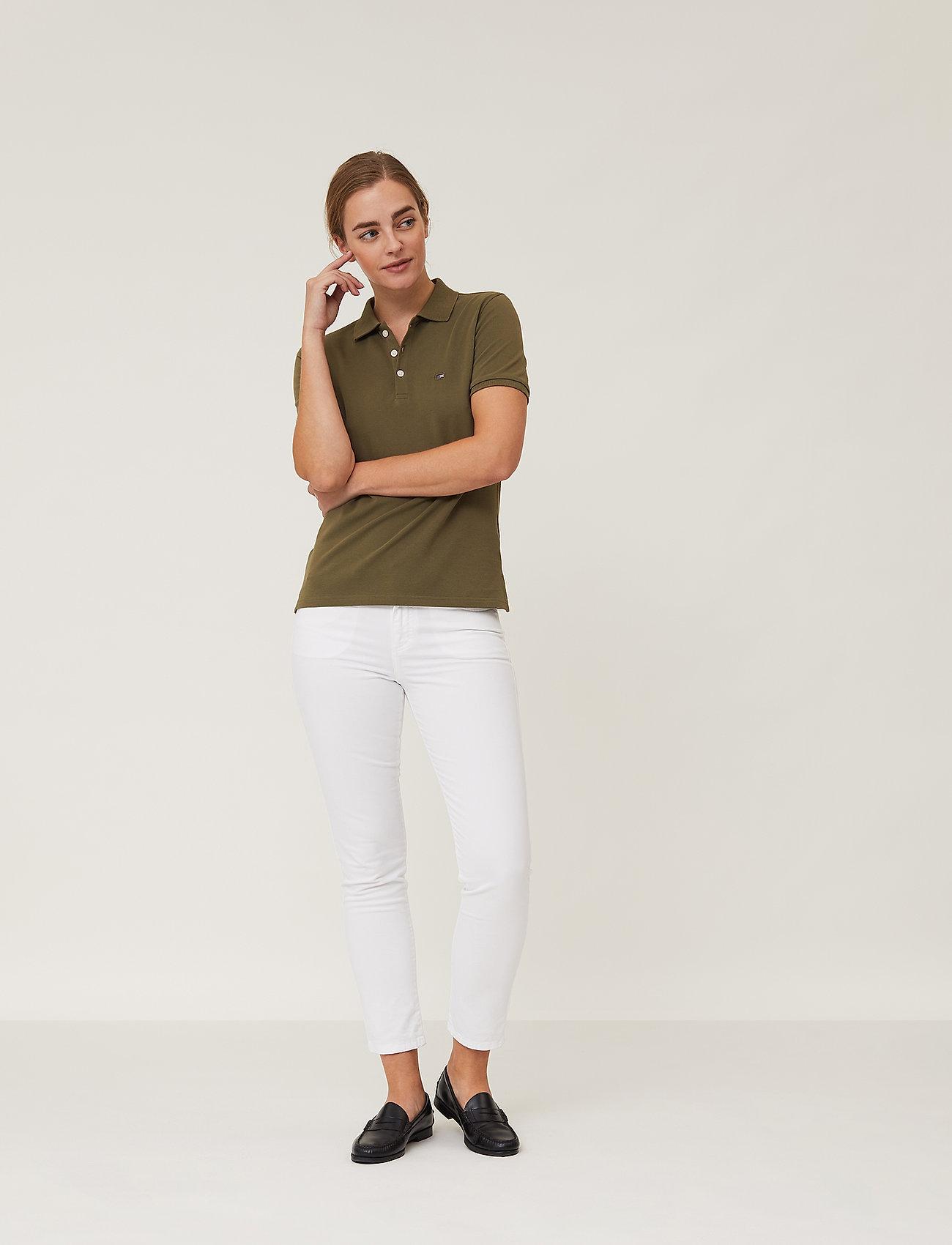 Lexington Clothing - Jess Pique Polo Shirt - polohemden - green - 0
