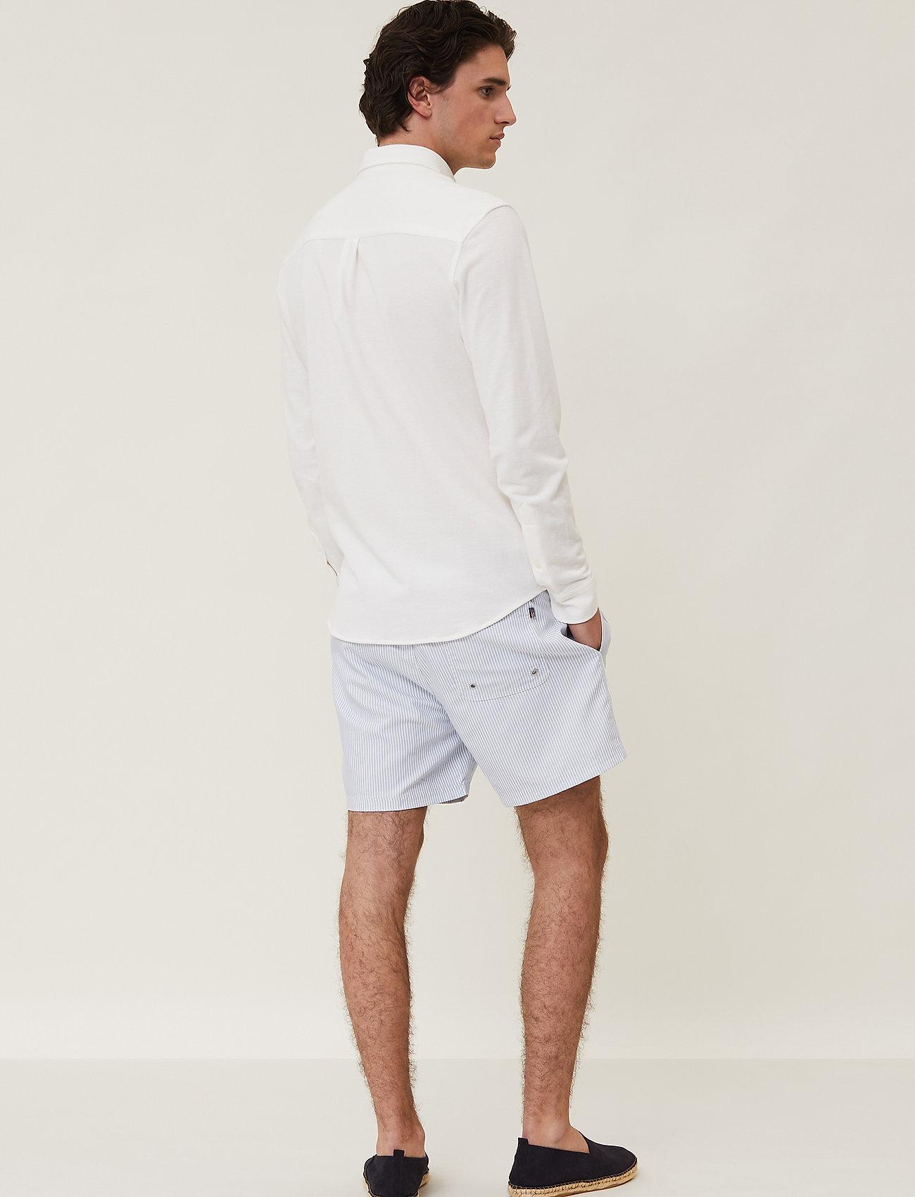 Lexington Clothing - Brett Organic Cotton Pique Shirt - chemises à carreaux - white - 3