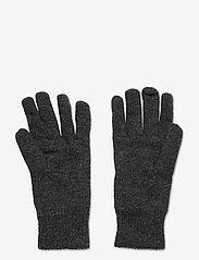 Lexington Clothing - Cordwood Lambswool Gloves - handschoenen - dark gray melange - 1