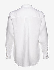 Lexington Clothing - Isa Linen Shirt - langermede skjorter - white - 1