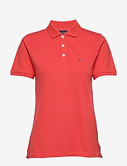 Lexington Clothing - Jess Pique Polo Shirt - pikeepaidat - red - 0