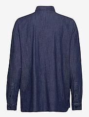 Lexington Clothing - Edith Denim Shirt - jeansblouses - dark blue denim - 2