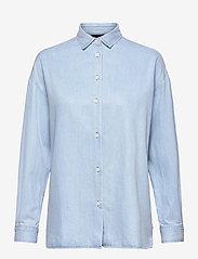 Lexington Clothing - Edith Denim Tencel Shirt - jeanshemden - lt blue denim - 1