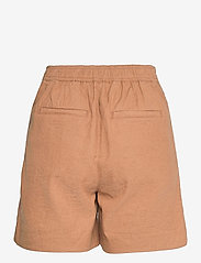Lexington Clothing - Juliana Linen Blend Shorts - chino shorts - brown - 2