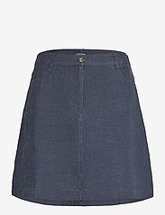Stella Linen Skirt - DARK BLUE