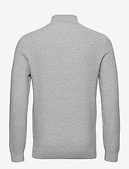 Lexington Clothing - Clay Organic Cotton Half Zip Sweater - half zip - light grey melange - 2