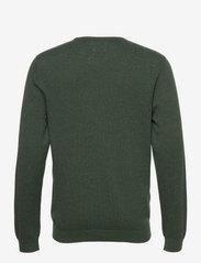 Lexington Clothing - Bradley Organic Cotton Crew Neck Sweater - basic gebreide truien - green melange - 2
