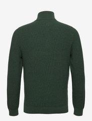Lexington Clothing - Clay Organic Cotton Half Zip Sweater - truien met halve rits - green melange - 2