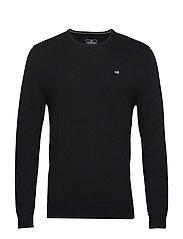 Bradley Crew Neck Sweater - BLACK