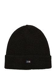Stockton Wool Beanie - BLACK