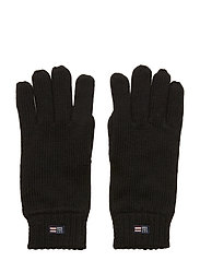 Connecticut Knitted Gloves - BLACK