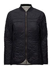 Ivy Quilted Jacket - DEEP MARINE BLUE