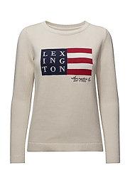 Lova Sweater - Shell White