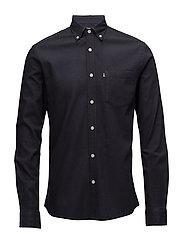 Peter Lt Flannel Shirt - Deep Marine Blue