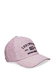 Houston Striped Oxford Cap - Red/White Stripe