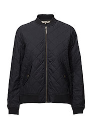 Greta Quilted Jacket - DEEP MARINE BLUE