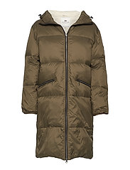 Nora Down Parka - HUNTER GREEN