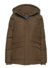Emma Down Jacket - HUNTER GREEN