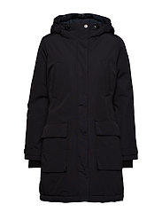 Pauline Down Coat - CAVIAR BLACK