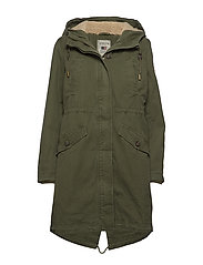 Vera Cotton Parka - HUNTER GREEN