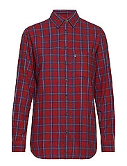 Isa Flannel Shirt - MULTI CHECK
