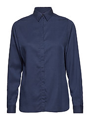 Vanja Lyocell Shirt - DEEPEST BLUE