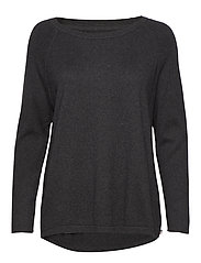 Lea Sweater - DARK GRAY MELANGE