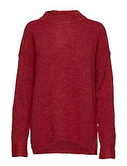 Talula Sweater - ROSEWOOD RED