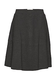 Helen Jersey Skirt - HEATHER GRAY MELANGE