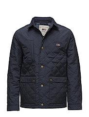 Hunter Quilted Jacket - DEEPEST BLUE