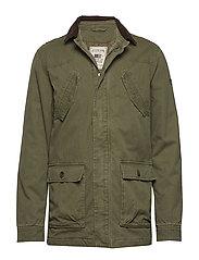Glenn Field Jacket - HUNTER GREEN
