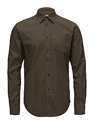 Kyle Oxford Shirt - HUNTER GREEN