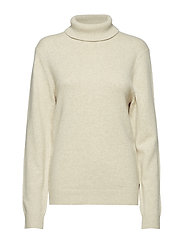 Kent Rollneck Sweater - FEATHER GRAY