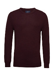 Tyrion Sweater - BURGUNDY WINE