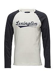 Seth Long Sleeve Tee - BONE WHITE