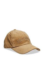 Houston Cord Cap - BEIGE