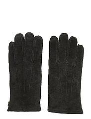 Maine Suede Gloves - CAVIAR BLACK