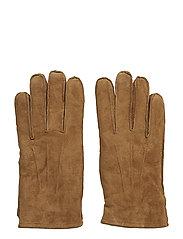 Maine Suede Gloves - COGNAC