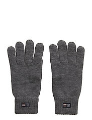 Connecticut Knitted Gloves - HEATHER GRAY MELANGE
