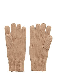 Connecticut Knitted Gloves - WARM SAND