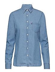 Emily Denim Shirt - LT BLUE DENIM