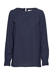 Mercer Blouse - NAVY BLUE