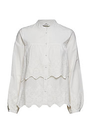 Lilly Lace Blouse - SNOW WHITE