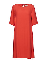Thea Dress - VINTAGE RED
