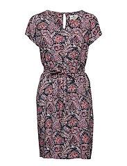 Kristina Paisley Dress - PAISLEY PRINT