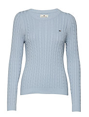 Felizia Cable Sweater - KENTUCKY BLUE