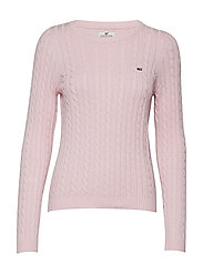 Felizia Cable Sweater - ROSE SHADOW