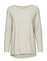 Lea Sweater - LT WARM GRAY MELANGE
